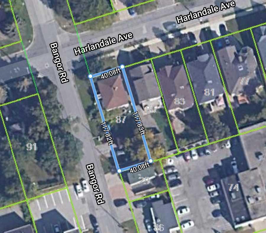 87 Harlandale Ave, Toronto, Ontario M2M1N9, 2 Bedrooms Bedrooms, 5 Rooms Rooms,2 BathroomsBathrooms,Detached,For Sale,Harlandale,C4831254